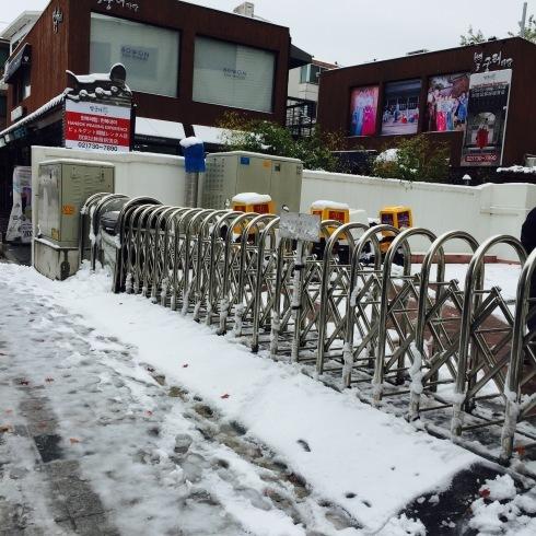 小学生連れソウル 6 「ビョルグント韓服」で雪でも楽しい韓服体験☆_f0054260_21511550.jpg