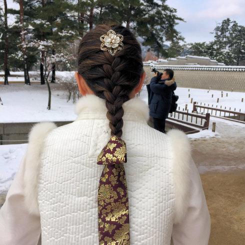 小学生連れソウル 6 「ビョルグント韓服」で雪でも楽しい韓服体験☆_f0054260_21541195.jpg
