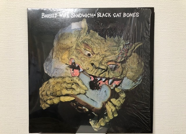"Black Cat Bones""Barbed Wired Sandwich"" ~マルハチ私的名盤百選その84~_e0052576_22462635.jpg"