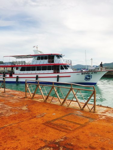 Similan Queen ダイビングボート第2弾_f0144385_13095542.jpg
