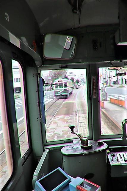 藤田八束の鉄道写真@高知市内を走る路面電車は便利なこと最高です。一日乗り放題600円で5分間隔で走っている・・・観光客は路面電車が嬉しい_d0181492_18205193.jpg