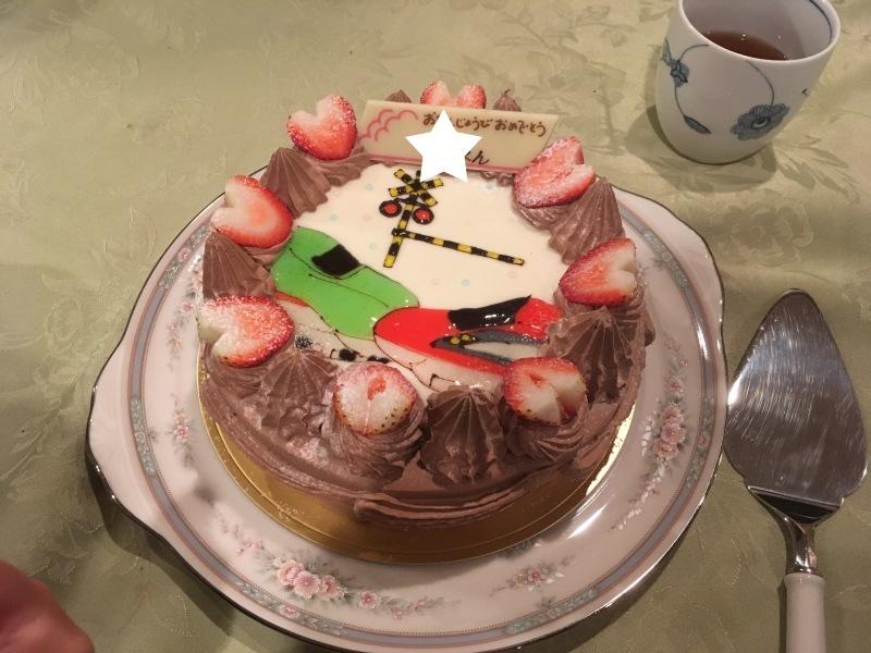 チョコペンで作るシンカリオンのバースデーケーキ&電車のケーキあれこれ色々♪_d0367998_21011890.jpg