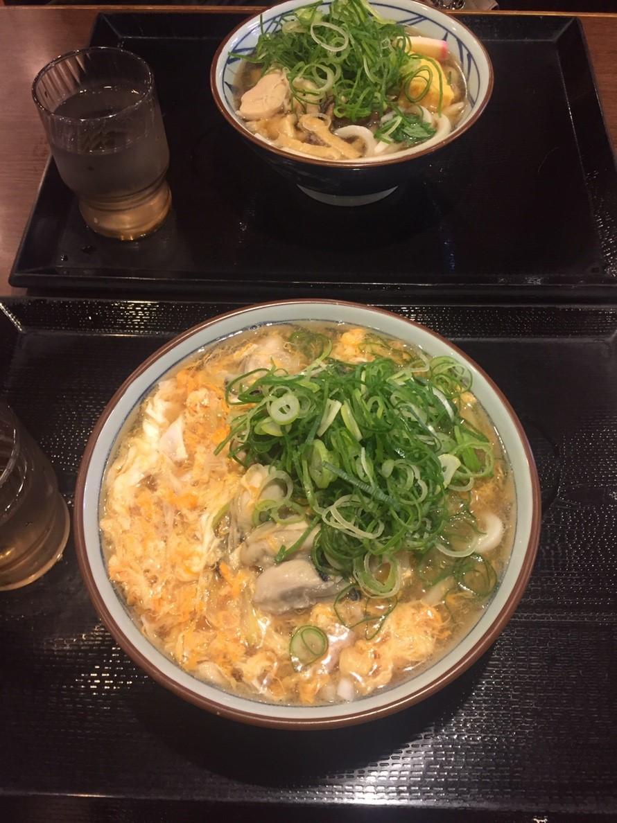 讃岐釜揚げうどん丸亀製麺 牡蠣づくし_e0115904_12004575.jpg