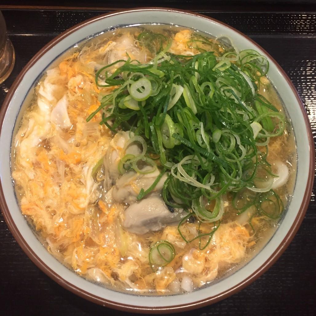 讃岐釜揚げうどん丸亀製麺 牡蠣づくし_e0115904_12063607.jpg