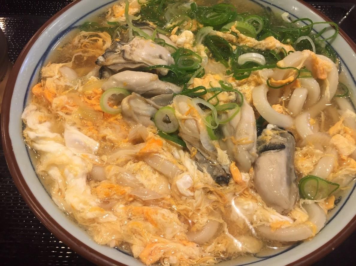 讃岐釜揚げうどん丸亀製麺 牡蠣づくし_e0115904_12091135.jpg