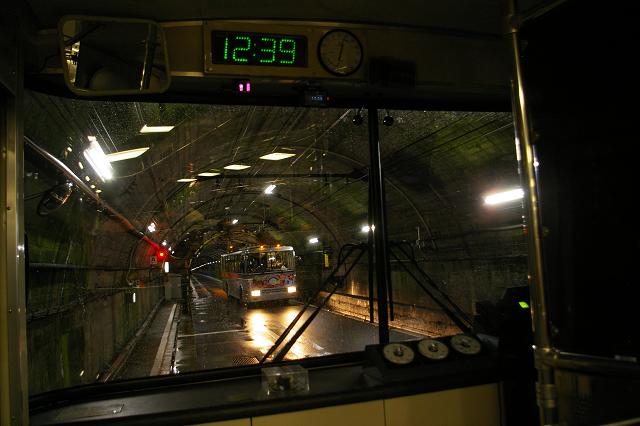 関電トンネルトロリーバスラストラン!_b0283432_23365011.jpg