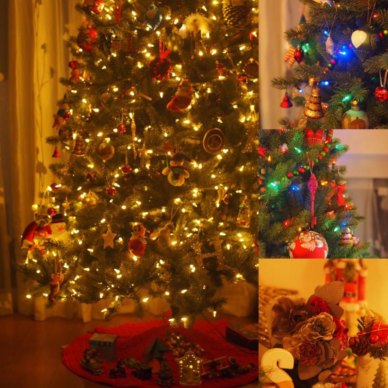 2mのクリスマスツリーと一緒に_e0362276_09300196.jpg
