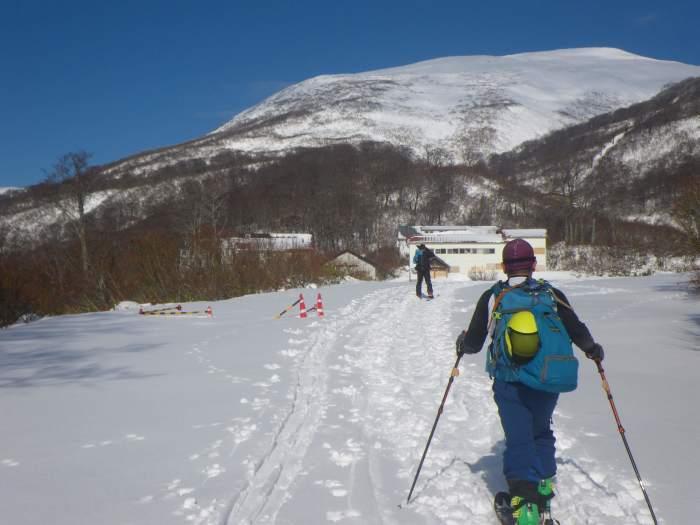 月山・志津~姥ヶ岳(シーズン初滑り) ~ 2018年11月25日_f0170180_21282652.jpg