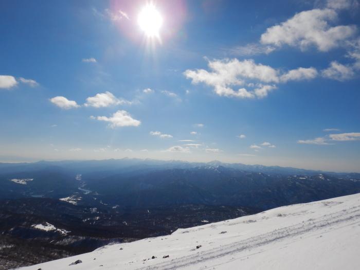 月山・志津~姥ヶ岳(シーズン初滑り) ~ 2018年11月25日_f0170180_21372079.jpg