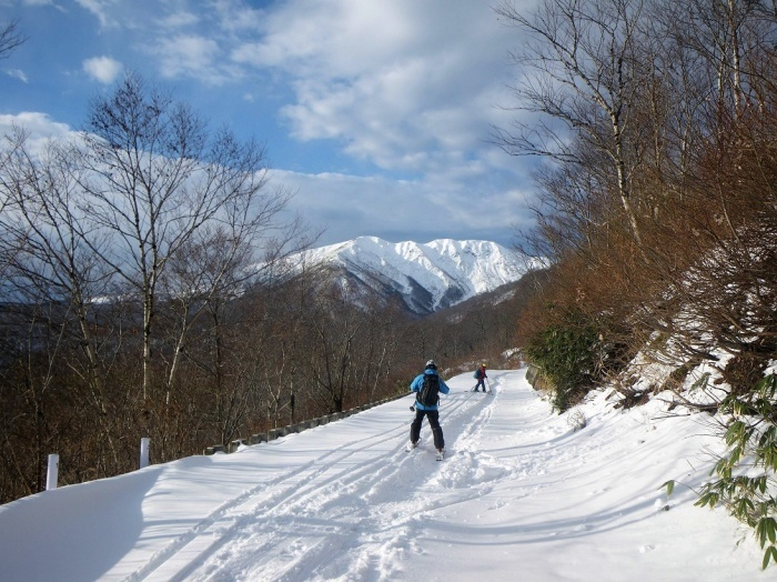 月山・志津~姥ヶ岳(シーズン初滑り) ~ 2018年11月25日_f0170180_22094378.jpg