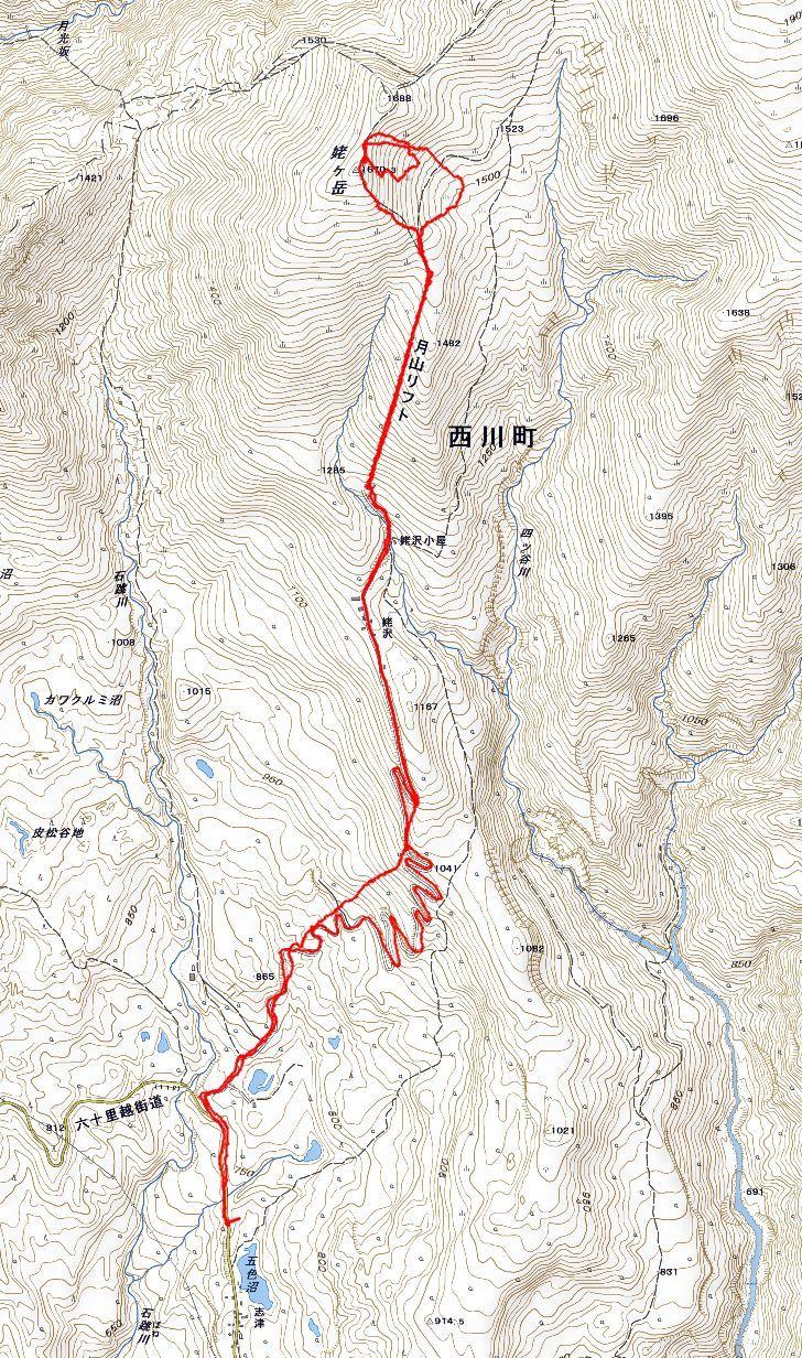 月山・志津~姥ヶ岳(シーズン初滑り) ~ 2018年11月25日_f0170180_22135566.jpg