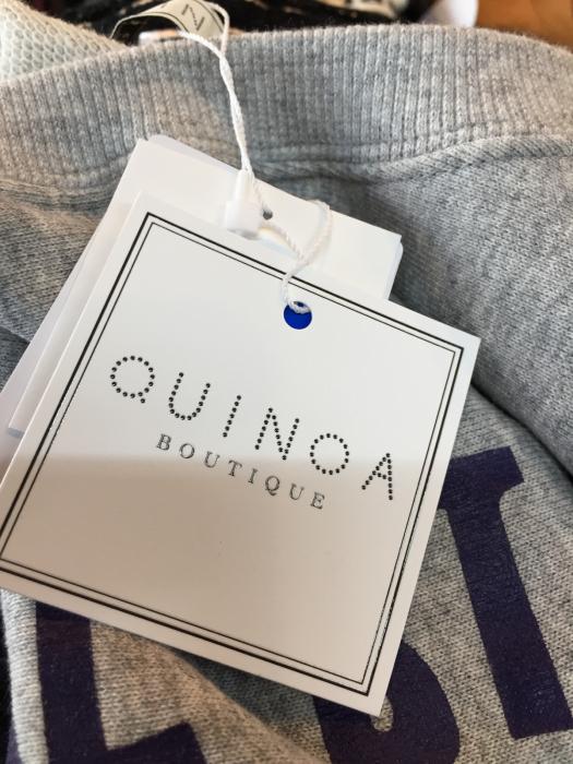 QUINOA boutique SWEAT 再入荷!_e0076692_15544252.jpg