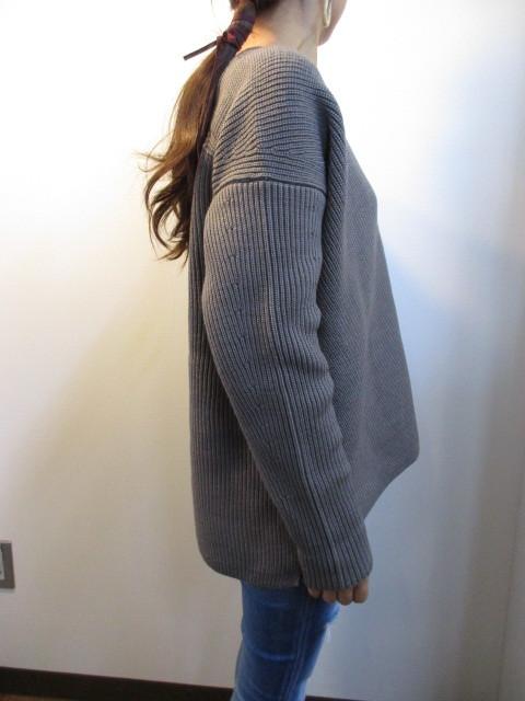 マイカアンドディール/MICA&DEAL  v/n loose knit p/o_e0076692_18335559.jpg