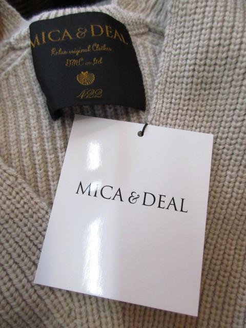 マイカアンドディール/MICA&DEAL  v/n loose knit p/o_e0076692_18372072.jpg