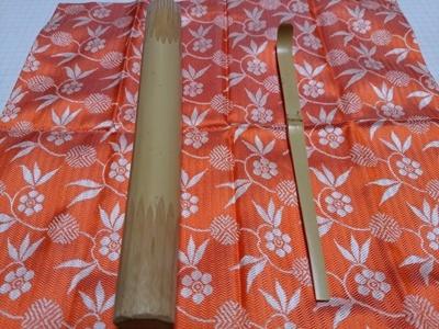 茶杓を削る_a0236300_23173445.jpg