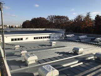 折板屋根防水工事(小平市)_c0183605_09081093.jpg