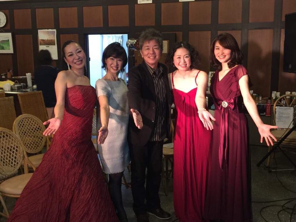 日本で初めて出来たゴルフ場⛳️の神戸ゴルフ倶楽部で瀬戸内JAZZ女子部と津田ナオミさんとのコラボでシネマライブしてきました。_c0091117_01260793.jpg