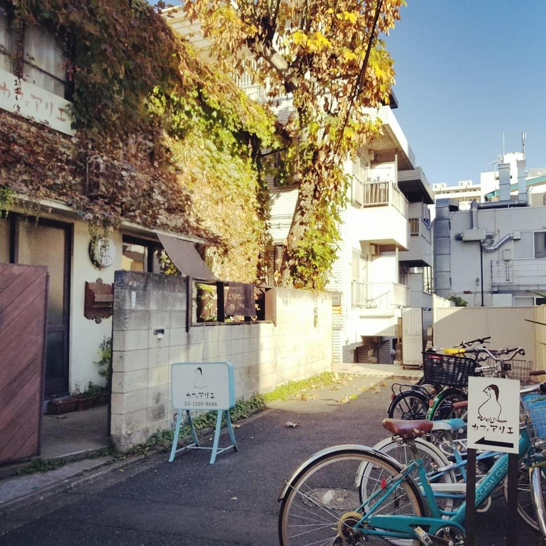 新宿百人町のオアシス「カフェ アリエ」* 新大久保で見つけた穴場カフェ♪_f0236260_08591652.jpg