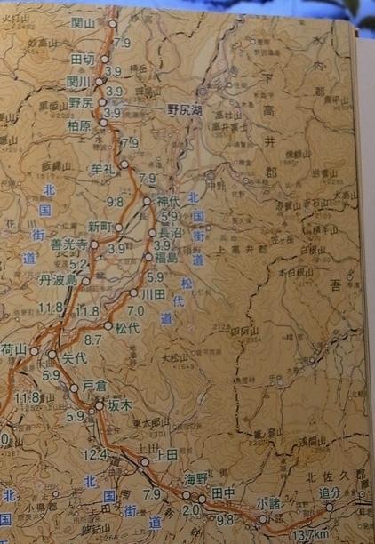 北国街道 10月24日 上田〜上山田温泉まで_e0158687_16390943.jpg