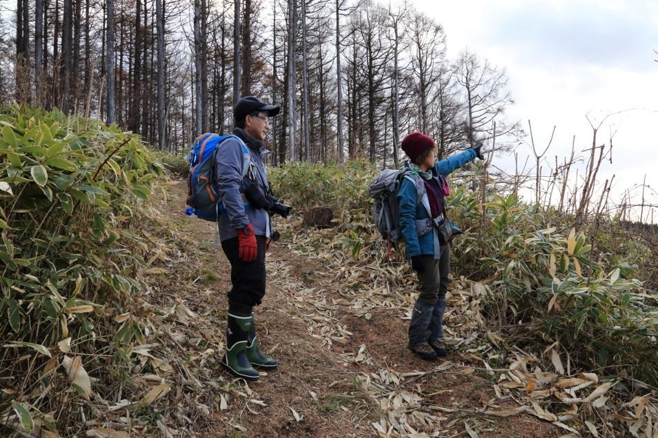 伊達紋別岳、2018.11.28ー同行者からの写真ー_f0138096_09484035.jpg