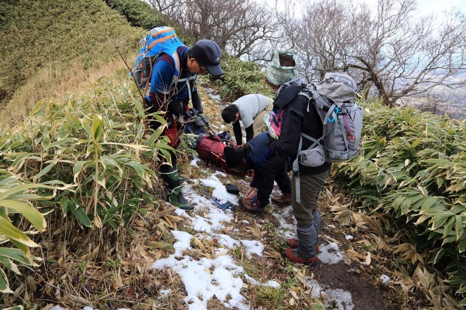 伊達紋別岳、2018.11.28ー同行者からの写真ー_f0138096_09500013.jpg