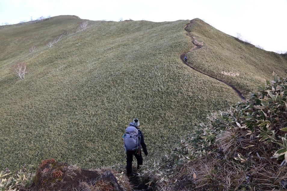 伊達紋別岳、2018.11.28ー同行者からの写真ー_f0138096_09500383.jpg