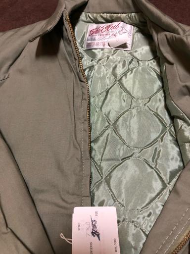 アメリカ仕入れ情報#19 デッドストック60s  ski club cotton Jacket!_c0144020_13474962.jpg