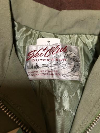 アメリカ仕入れ情報#19 デッドストック60s  ski club cotton Jacket!_c0144020_13481725.jpg