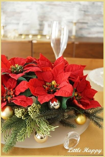 クリスマステーブルコーディネート2018_d0269651_11031641.jpg