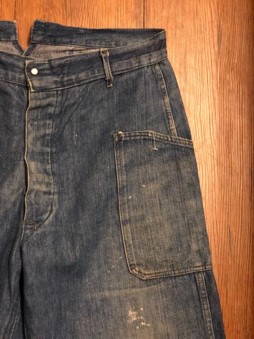 WW1 US NAVY denim trousers _a0208155_11444451.jpg