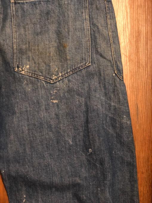 WW1 US NAVY denim trousers _a0208155_11451052.jpg