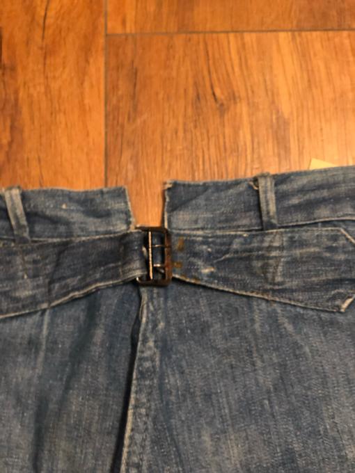 WW1 US NAVY denim trousers _a0208155_11451379.jpg