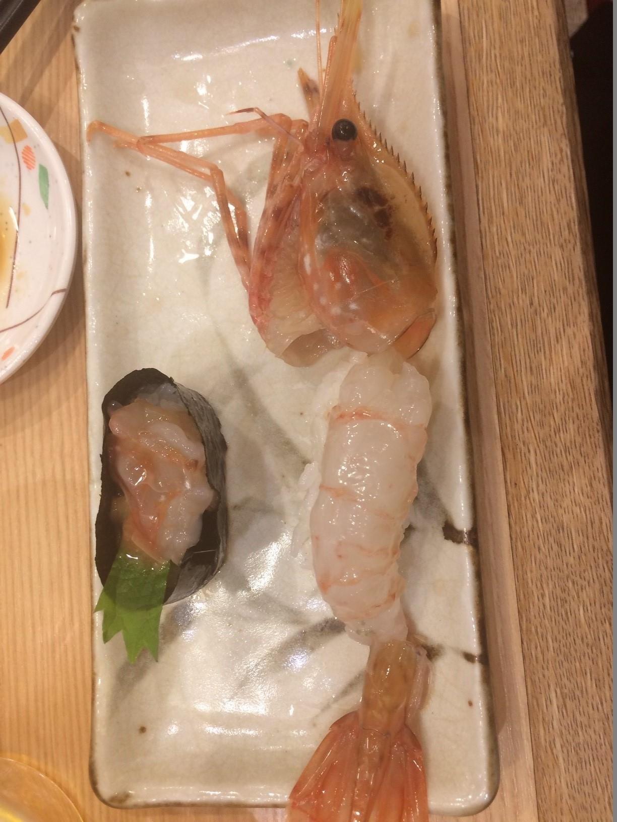 回転寿しトリトン 池袋東武百貨店 2 二週連続!_d0061678_10183661.jpg