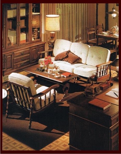 「コロニアルシリーズ」伝統的なコロニアルスタイルをモチーフにした優雅な家具_d0224984_13082059.jpg