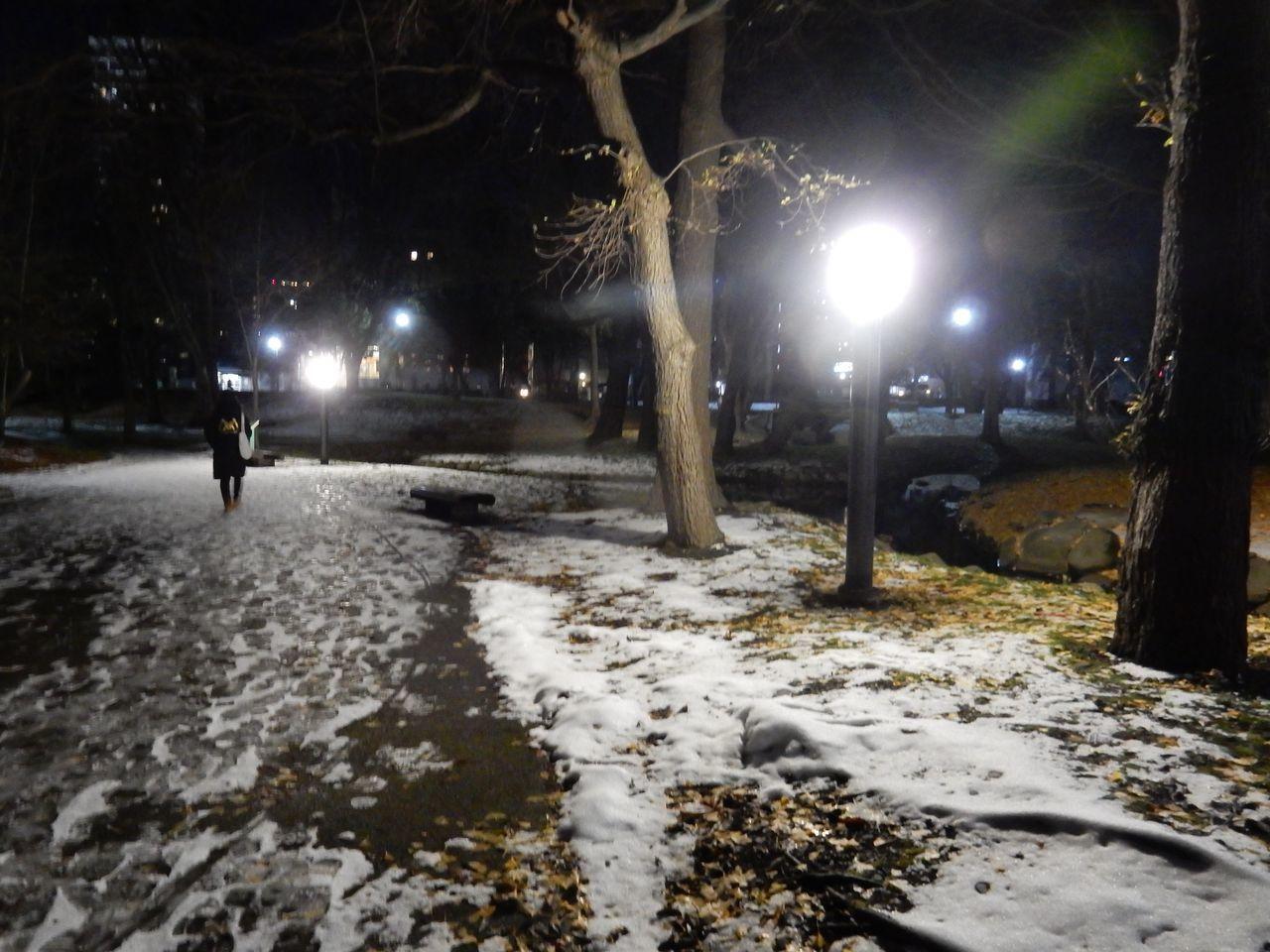 札幌の公式積雪は昨日でまた消えていた_c0025115_20413994.jpg