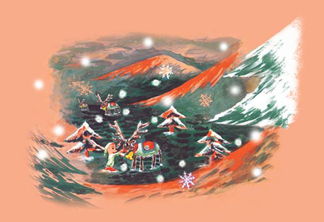 Walking in a Christmas Street_e0173058_07561715.jpg