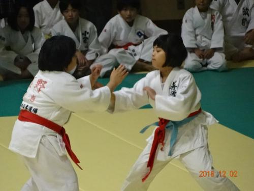 2018 福岡県女子柔道選手権大会_b0172494_16450252.jpg