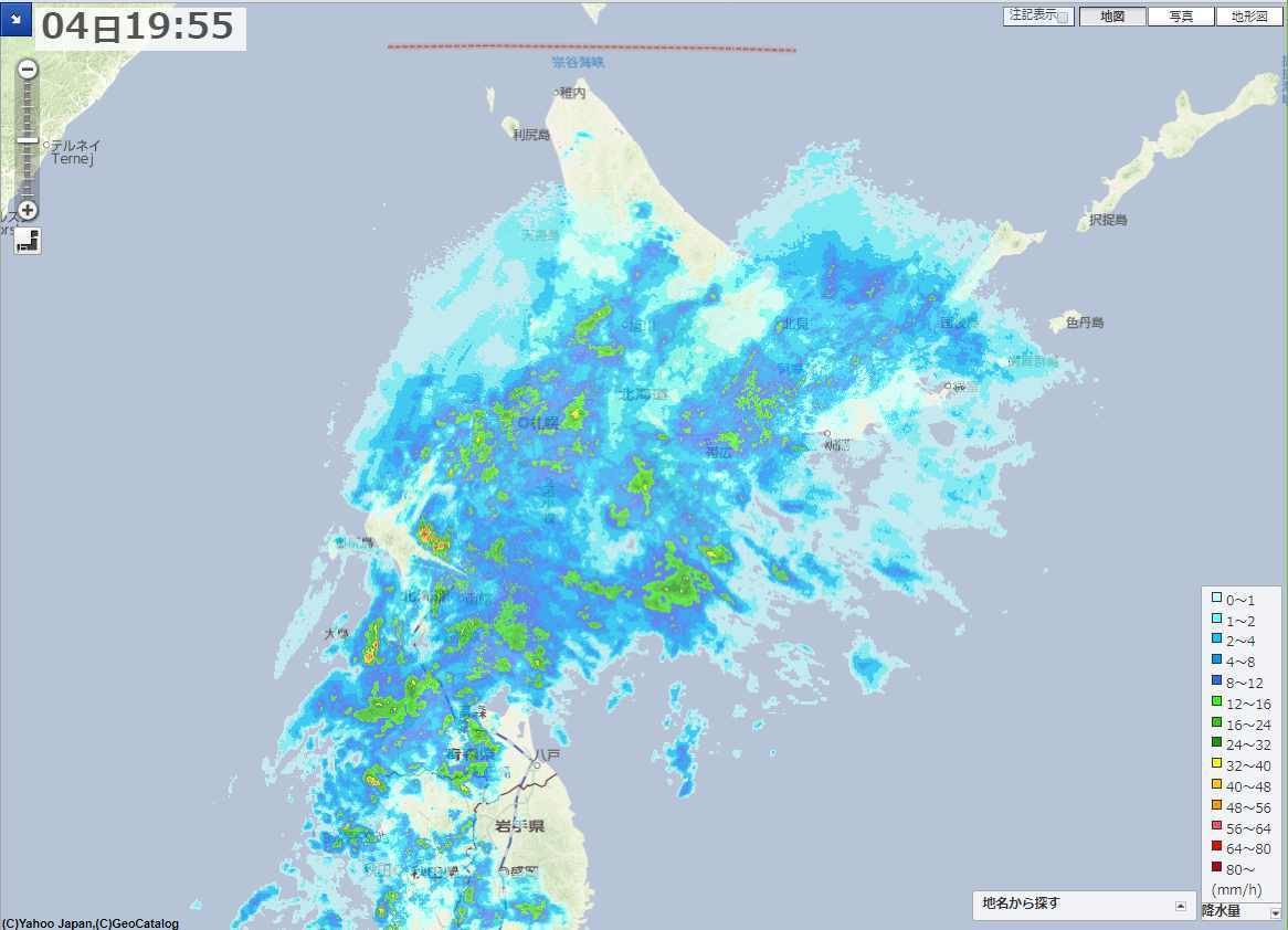 雪が完全に消えましたが、明日は冬へ真っ逆さま_c0025115_21551981.jpg