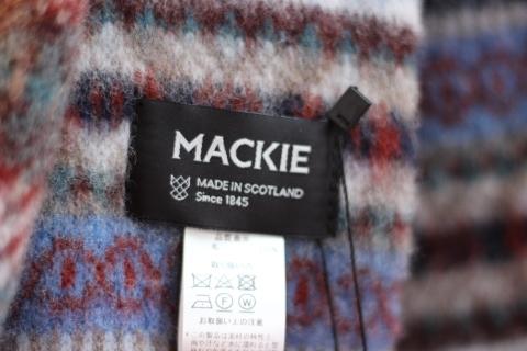 """スコットランドの伝統技法で作られた「ROBERT MACKIE」\""""BRUSHED FAIRISLE SCARF\"""" ご紹介_f0191324_08190329.jpg"""