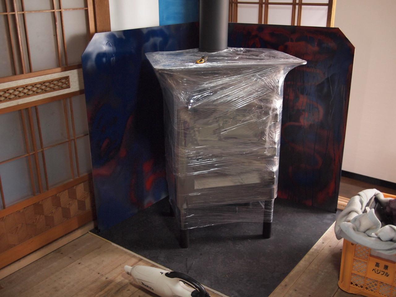 長野県上伊那郡辰野町にオーブン付き薪ストーブ納品。_a0206732_19494280.jpg