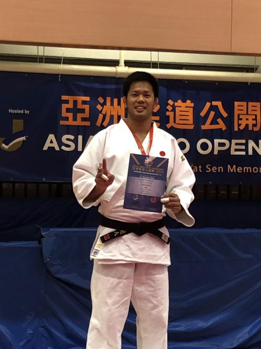 須田晃人先輩(55期卒)アジアオープンで銀メダル!!_c0095841_10385681.jpeg