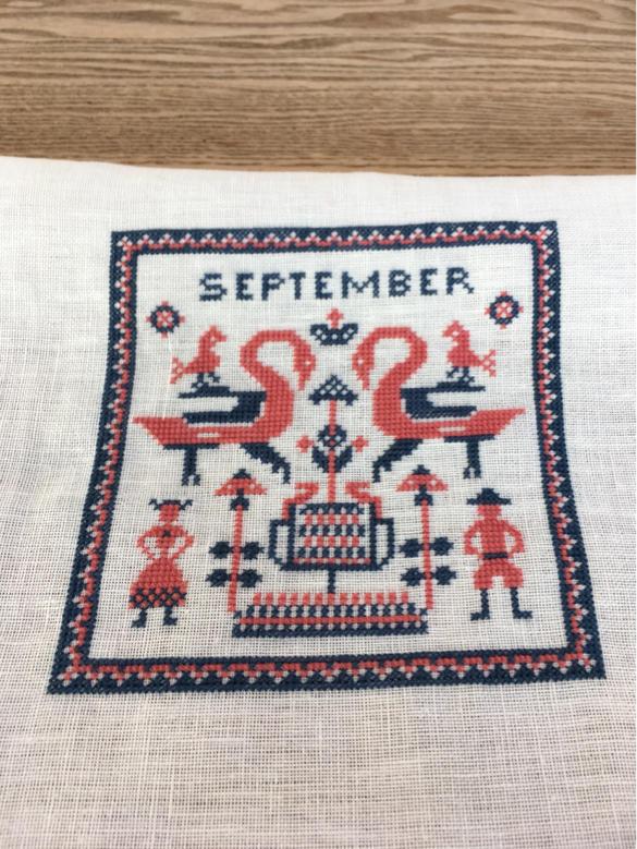 フレメ  カレンダー 1965 September   完成_a0374562_09583178.jpg