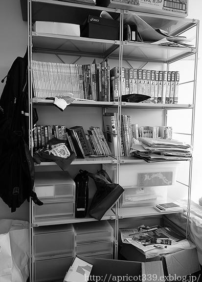 長男の部屋、本の収納の見直し BEFORE_c0293787_16311059.jpg