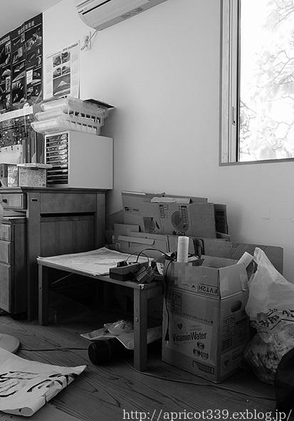 長男の部屋、本の収納の見直し BEFORE_c0293787_16323851.jpg