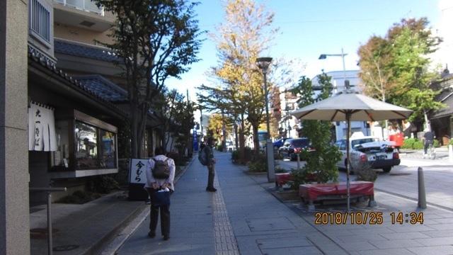 北国街道10月25日 戸倉〜丹波島〜善光寺_e0158687_20552231.jpg
