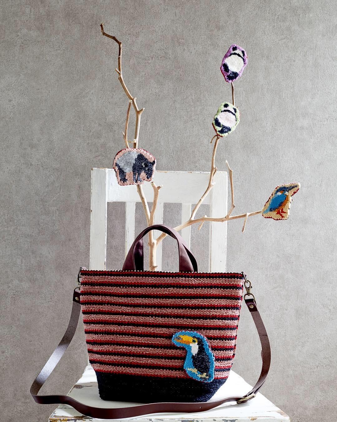 本日より、やまだちかこ 布織りバッグ作品展 vol.6 始まります_c0218903_19052674.jpeg