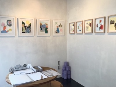 yuquichico exhibition 「壁にミミ、アリー、ジョージに、メアリー」_e0164111_16350995.jpeg