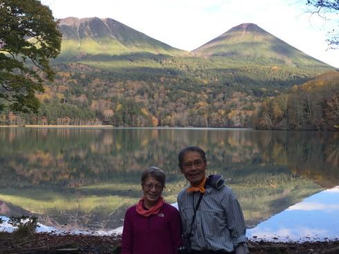 """2018年10月『森と湖と紅葉の山々、阿寒』 October 2018 \""""Lake, Forest, Mountains in Akan, Autumn\""""_c0219616_13451013.jpg"""