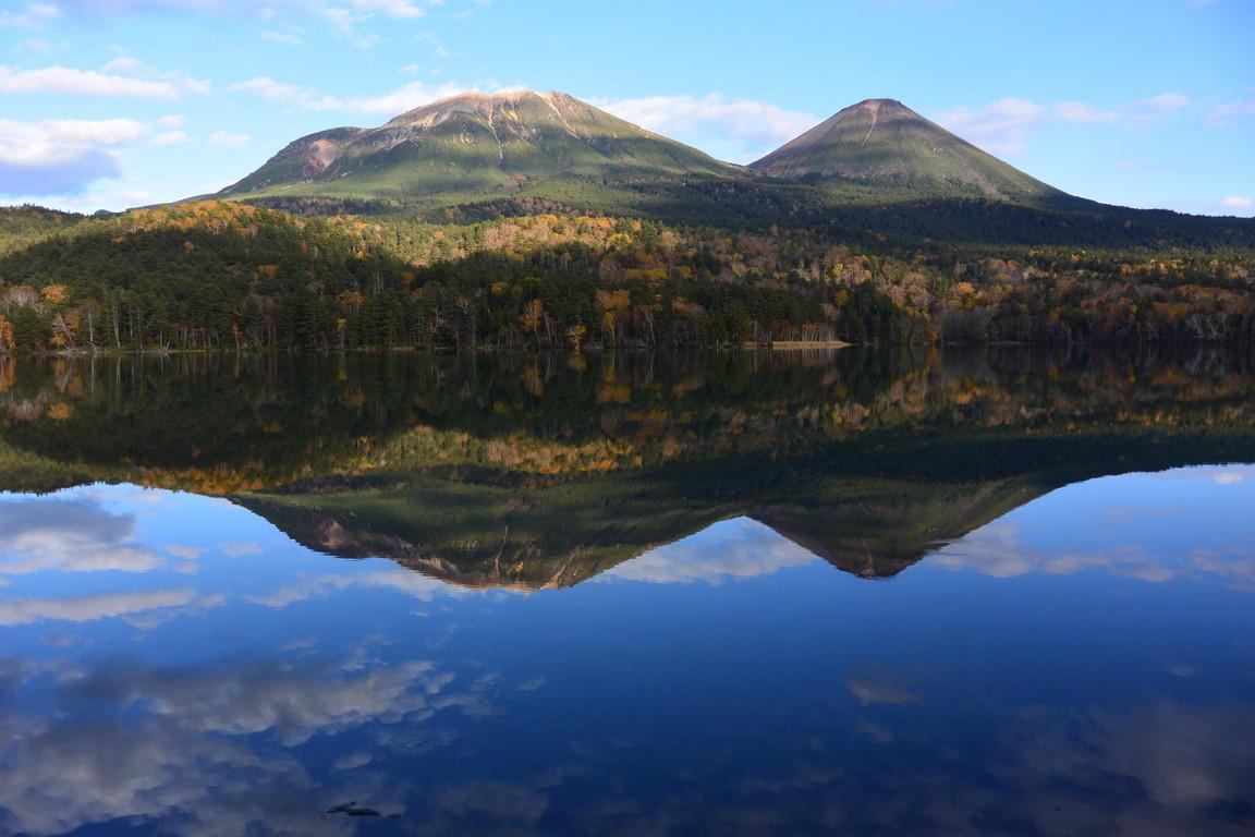 """2018年10月『森と湖と紅葉の山々、阿寒』 October 2018 \""""Lake, Forest, Mountains in Akan, Autumn\""""_c0219616_13451053.jpg"""