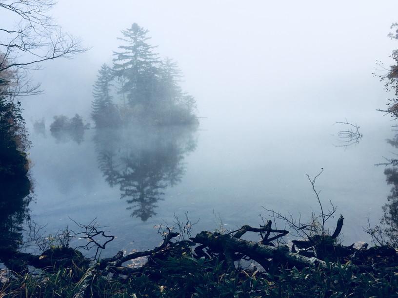 """2018年10月『森と湖と紅葉の山々、阿寒』 October 2018 \""""Lake, Forest, Mountains in Akan, Autumn\""""_c0219616_13480800.jpg"""